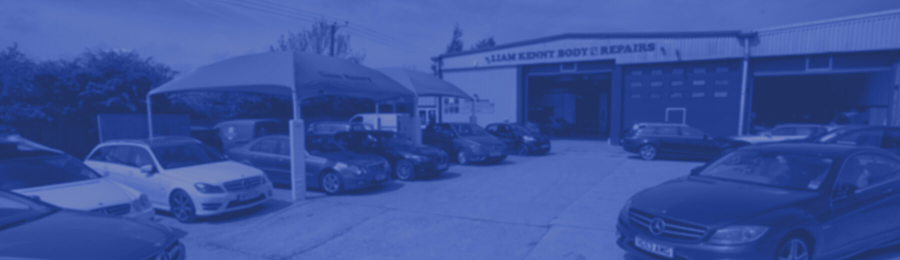 Liam Kenny Motor Body Repairs homepage banner